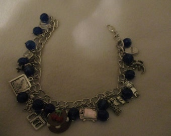 Matilda the musical inspired charm bracelet REDUCED