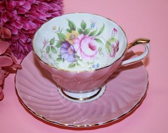 Aynsley Bone China Teacup and Saucer