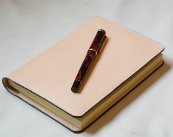 Journal Natural Leather Notepad Unlined Handmade Personalized