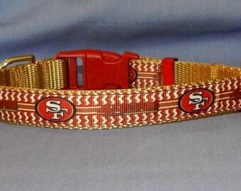 Medium San Francisco 49ers collar