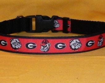 Georgia Bulldogs collar