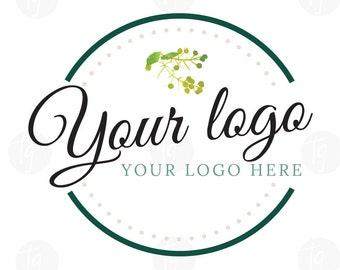 Classy logo design // Simple Logo Design // Premade logo design