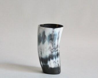 Vintage Polished  Horn Cup