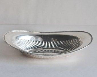 Vintage Silver Upturn Style Bowl