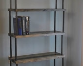 reserved for Tesa, bookshelf with metal pipes
