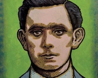 Seán Mac Diarmada. Irish Revolutionary. Executed 1916. by Jim FitzPatrick. Easter Rising, Easter1916, 1916 Rising, Irish, Ireland