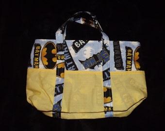 Medium Batman Lined Handbag with Pockets