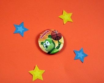 Gummibär (The Gummy Bear) Basketball Button