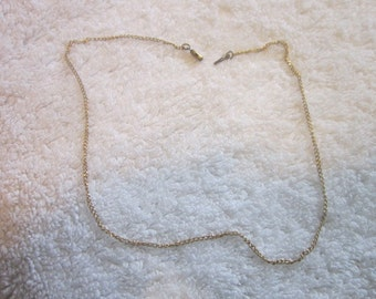 Vintage Gold Filled 16 inch Chain Necklace