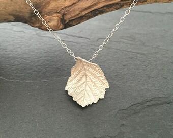 Autumn Leaf Pendant Medium