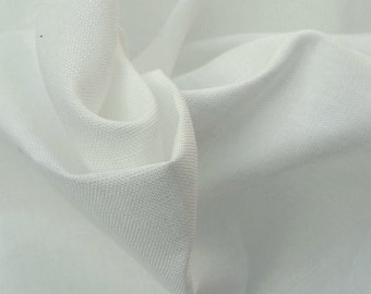 Linen Fabric By the Yard - PFD Undyed