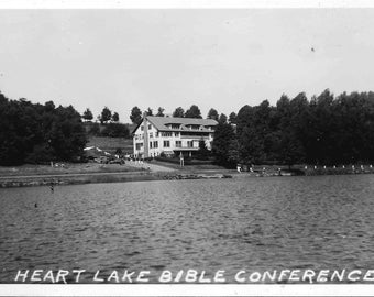 Vintage 1900 Postcard Collection | Heart Lake Bible Conference | Jermyn | Pennsylvania | Set of Six