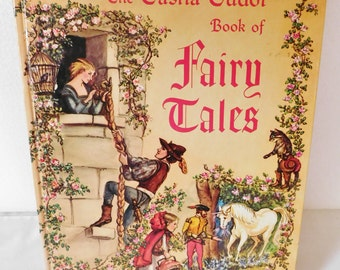 vintage 1980 TASHA TUDOR book of Fairy Tales hardcover