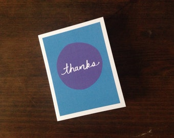 Thanks - Greeting Card