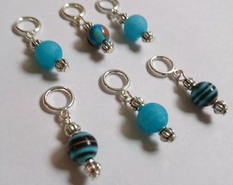 Beaded Stitch Markers for Knitting