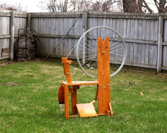 Thrifty Fox Spinning Wheel - DIGITAL PDF PLANS
