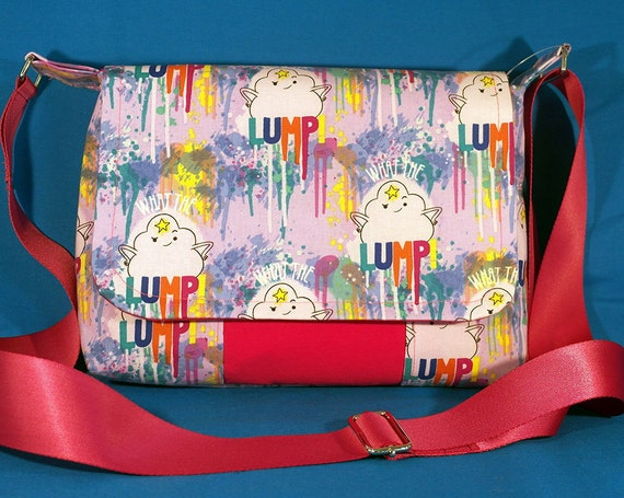 Sale adventure time fabric bag lumpy space princess for Space pants fabric