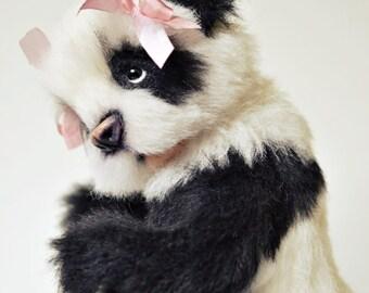 Sold Baby Panda artist teddy bear