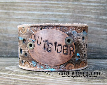 Outsider Distressed Cuff