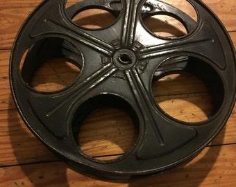 Vintage Movie Reel Decor