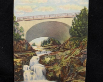 Postcard: Cross River Falls, Minnesota's Scenic North Shore Drive