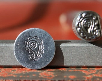 EXCLUSIVE Paisley Metal Stamp Perfect for Metal Stamping and Metal Jewelry Design Work  SGK-20