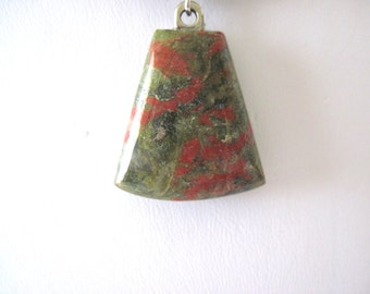 Natural stone  unakite necklace