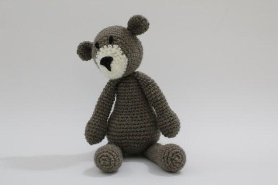 Bear - Crochet animal toy