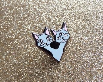 Alien Cat Hard Enamel Pin