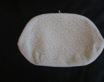 Vintage Le Regale Evening Bag with Italian Beads