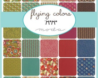 Flying Colors by MOMO for Moda -  early release Layer Cake Available now M33060LC