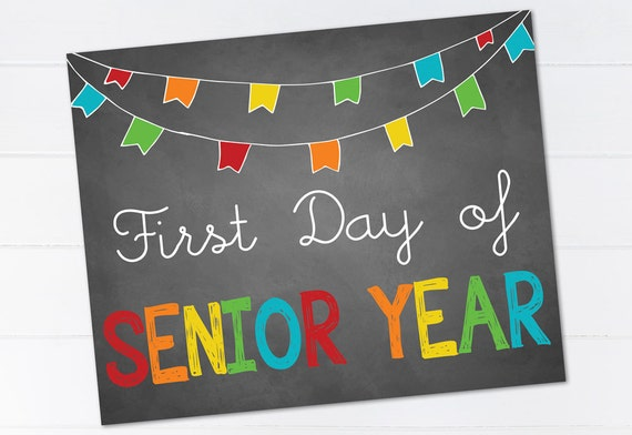 first day of senior year Senior year has just started for tons of new college seniors and it's time get started on those things to do before you graduate bucket lists.
