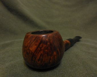 Sir Sheldon Briar Smoking Pipe, Vintage Estate Tobacco Pipe by National Briar Pipe Company