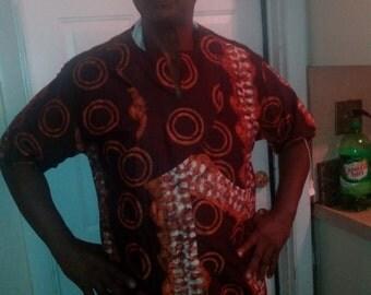 Men's African Shirt-C4