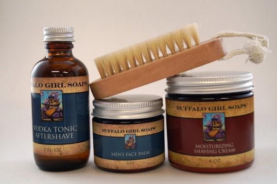 items similar to beard grooming kit shaving kit mustache wax beard balm face balm beard oil. Black Bedroom Furniture Sets. Home Design Ideas