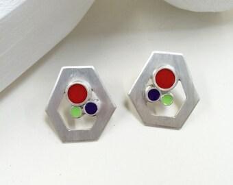 Petite Geo Earrings