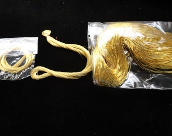 24K Gold Thread Samples