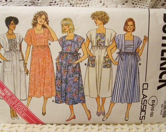 Butterick Pattern - 3711 - Misses Maternity Dress - Size - Cut To Size 14