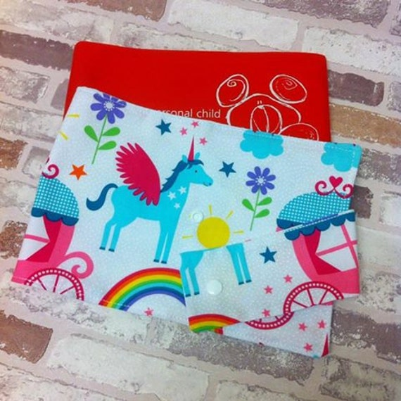 Nhs Red Book Cover Tutorial : Rainbows unicorns nhs red book cover children s health