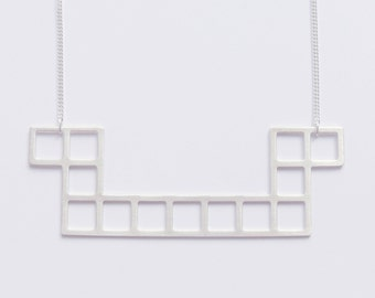 Tetris necklace