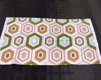 Lee Jofa Groundworks Hexagon Tile Shell Fabric Remnants
