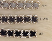 Cross Weave Bracelet - your choice of hardware