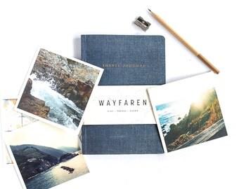 Travel Journal, Travelers Notebook, Travel Womens, Travel Gifts, Graduation Gift, Adventure Notebook, Wanderlust Gift, Gift for Traveler