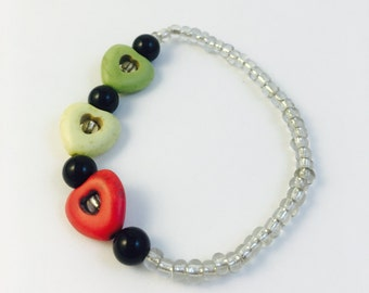 Rasta Love Beaded Bracelet