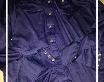 1950s dress shirt