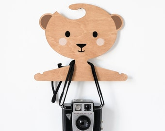 Honey the Bear clothes hanger