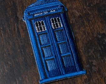 Mini Tardis Patch