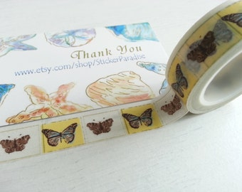 Butterfly Washi / Masking Tape - 10M