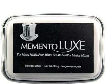 Memento Luxe Tuxedo Black Ink Pad