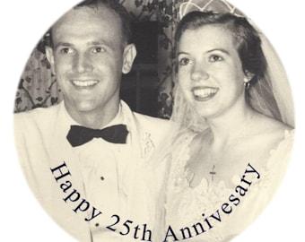 Wedding Anniversary Photo Balloon